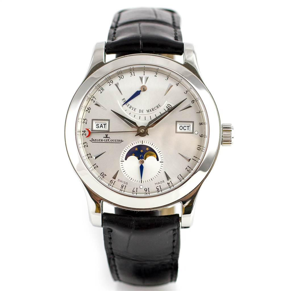 Jaeger -LeCoultre Master  Calendar Moonphase Power   Reserve