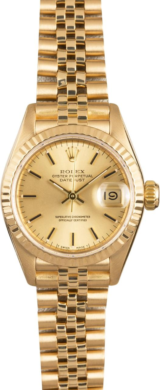 Rolex  DateJust  Lady  Yellow Gold  26 mm